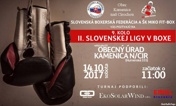 9. kolo II. Slovenskej ligy v boxe