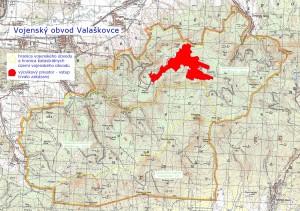Mapa Valaškoviec